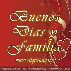 logos de facebook buenos dias familia | Buenos Dias Familia