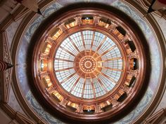 Topeka, Kansas: State Capitol Building Dome