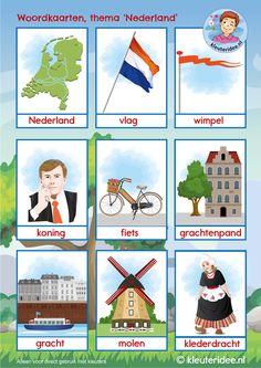 Preschool Lessons, Craft Activities For Kids, Learn Dutch, Dutch Language, Montessori Classroom, Home Schooling, Language Lessons, Teaching, Crafts