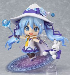 Vocaloid - Hatsune Miku - Rabbit Yukine - Nendoroid #380 - Magical Snow ver., Snow 2014 (Good Smile Company)