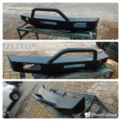 jual bemper depan -utk mobil jimny katana -model a -warna hitam,bahan besi 3,8mm,dudukan sasis 5,8mm -hubungi : tomato auto wtc mangga 2 , 082210151782