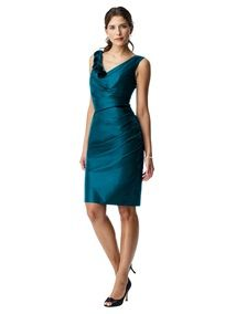 teal bridesmaid dress. This is more the color I want, but not quite the right style.
