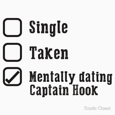 Mentally Dating Captain Hook