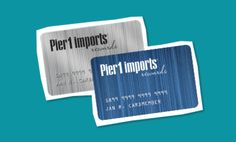 Pier 1 Credit Card Review - http://www.rewardscreditcards.org/pier-1-credit-card-review/