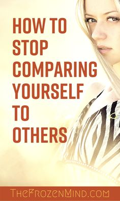 Comparing yourself to others can cause anxiety and depression. Comparing yourself to others can also cause added physical stress and can impact your health. Here are some practical ways to stop comparing yourself to others. Chronic Illness, Chronic Pain, Fibromyalgia, Physical Stress, Mental Health Conditions, Comparing Yourself To Others, Stop Comparing, Angst, Mental Health Awareness
