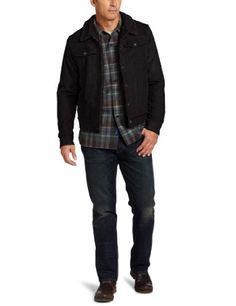 a23a2f0699866 U.S. Polo Assn. Men s Corduroy Jean Jacket, Black, Large Mens Corduroy  Jeans,