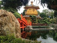 The incredibly beautiful Chi Lin Nunnery and adjacent park is great FREE activity in Hong Kong!  -- Peanuts or Pretzels