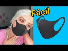 Free Online Videos Best Movies TV shows - Faceclips Easy Face Masks, Diy Face Mask, Costura Diy, Paper Crafts Origami, Easy Sewing Projects, Diy Mask, Fashion Face Mask, Youtube, Medical