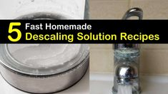 Homemade Descaling Solution Recipes: 5 DIY Tips to Descale Your Appliances House Cleaning Tips, Cleaning Hacks, Descale Keurig, Coffee Drinks, Coffee Cups, Cleaners Homemade, How To Squeeze Lemons, Cleaning Solutions, Appliances