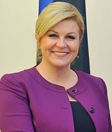 President of Croatia President Of Croatia, Head Of State, My Heritage, The Republic, Celebs, Celebrities, Role Models, Face, Beauty