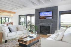 Serene And Stylish Living Room | HGTV U003eu003e Http://www.hgtv