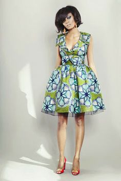 Beautytude by dk: Le pagne, la mode et nous African Print Dresses, African Wear, African Attire, African Women, African Dress, African Prints, Ankara Dress, African Fabric, African Outfits