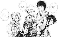 Bertholdt, Annie and Reiner Attack On Titan Krista, Attack On Titan Ships, Attack On Titan Anime, Annie Leonhardt, Titan Shifter, Aot Funny, Haikyuu, Horse Face, Ymir
