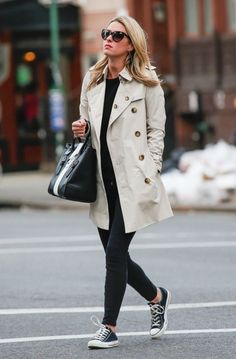 These 27 These Celebs Show Us How to Wear Trench Coats ...