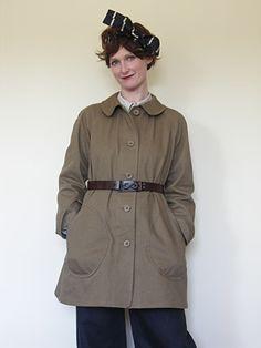 Ladies Raglan Coat by Old Town Clothing