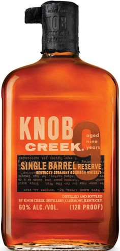 Aged for a minimum of nine years and bottled at a robust 120 proof, this bourbon was developed personally by Booker Noe, grandson of Jim Beam.