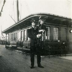 Tsar & Tsarevich onboard the Standart