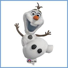 This is Olaf and he loves warm hugs! Get to give real warm hugs with this high Olaf Balloon, perfect to design your Frozen themed party. This is an officially licensed Disney product. Check out our other Disney Fro Disney Frozen Olaf, Disney Frozen Party, Frozen Birthday Party, Frozen Kids, Frozen Frozen, Frozen Balloons, Jumbo Balloons, Foil Balloons, Snowman