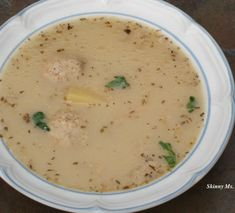 Slow Cooker Turkey Sausage and Potato Soup #skinnyms #slowcooker