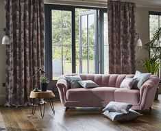 Prestigious Textiles have been designing beautiful interior fabrics and wallpapers for over 30 years. Choose from the UK's widest range of upholstery, cushion and curtain fabrics. Curtain Fabric, Fabric Art, Curtains, Prestigious Textiles, Stunning Wallpapers, Dark Walls, Fabric Suppliers, Sofa, Couch