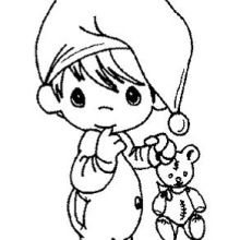 Precious Moments Baby Coloring Pages - Bing Images Baby Coloring Pages, Printable Coloring Pages, Coloring Pages For Kids, Coloring Books, Precious Moments Coloring Pages, Christmas Coloring Pages, Digi Stamps, Christmas Colors, Copic