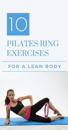 10 Pilates Ring Exercises For A Lean Body If you are looking to tone your body, this is the right place. Especially if you have been practicing Pilates on a daily basis. What I would like to show you are new exercises you can do while inco… Pilates Workout Videos, Pilates Training, Pilates Ring Exercises, Videos Yoga, Pilates Reformer Exercises, Body Exercises, Body Pilates, Pilates At Home, Pilates Fitness