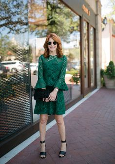 Blogger Cathy Williamson from @TheMiddlePage looking stunning in her AnneFontaine ELMO dress and SEAN BRAID clutch. Shop her whole look at AnneFontaine.com