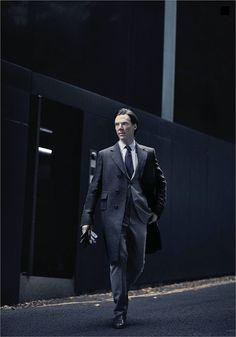 Cumberbatch photo shoot.