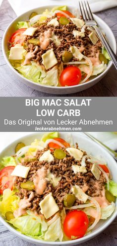 Low Carb Chicken Recipes, Low Carb Recipes, Healthy Recipes, Big Mac Salat, Low Carb Food List, High Protein Low Carb, Fat Burning Foods, Low Carb Desserts, No Carb Diets