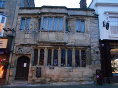 Took this yesterday - 15th century Merchant's house in Glastonbury known as 'The Tribunal' #history #architecture