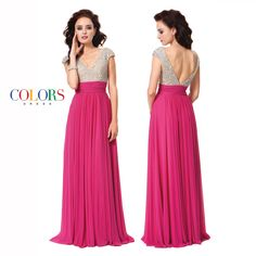 Dazzle and delight. Colors Dress #prom #prom2015