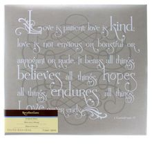 Perfect for safekeeping every treasured memory, the Love Is Kind Scrapbook Album by Recollections® has a wonderful Biblical message about love. It is ideal for putting together pictures of your weddin Photo Album Scrapbooking, Scrapbook Albums, Family Quotes, Me Quotes, Puppy Quotes, Distance Love, Best Love Quotes, Romantic Love, Marriage Advice