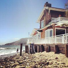 home sweet home.Malibu, CA House By The Sea, Up House, Good House, Coastal Homes, Coastal Living, Villas, Vivre A New York, Dream Beach Houses, California