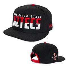 49dc95202 54 Best SDSU Hats images | Snapback hats, Snapback cap, Aztec