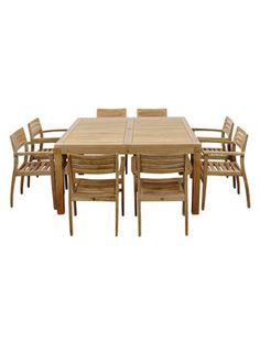 Teak Patio Furniture – Why is it the best choice? Outdoor Dining Furniture, Teak Furniture, Patio Dining, Dining Set, Dining Table, Outdoor Decor, Diy Patio, Home Decor, Kings Lane