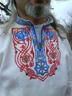 Вышивка крестом на рубахи