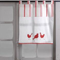Brise bise -déco campagne - brises bise - rideau brise bise - brise bise poules 45 x 70 - Amadeus -