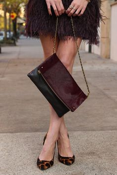 feather skirt | Atlantic-Pacific: Hello Holiday: Festive Feathers