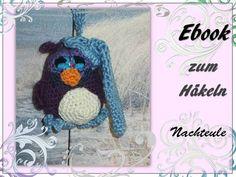 kleine Nachteule Häkelanleitung made by berli design meine Häkelwelt für Gross und Klein via DaWanda.com