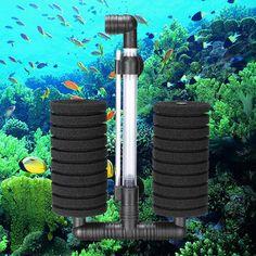 Biochemical Sponge Aquarium Fish Tank Filter XY-2822 Biochemical Sponge Filter