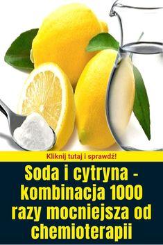 Soda i cytryna – kombinacja 1000 razy mocniejsza od chemioterapii Cantaloupe, Fruit, Health, Food, Health Care, Essen, Meals, Yemek, Eten