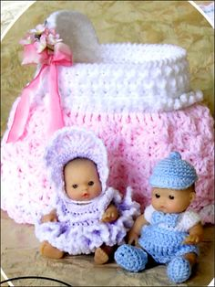 Itsy Bitsy Babies & Their Bassinet Purses