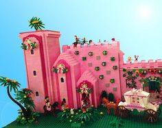 FrenzFantasyCastle3 by Pink Pterodactyl.  LOL!  Love the pink & love the name :P