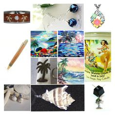 """""""Utopia of Gifts"""" by boardartistry ❤ liked on Polyvore featuring Paradise Bay, giftideas, shopsmall, epiconetsy and etsychaching"""