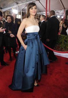 Celeb Diary: Marion Cotillard @ 2013 Screen Actors Guild Awards
