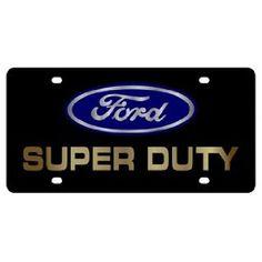 F-250 License Plate Frame Eurosport Daytona Built Ford Tough