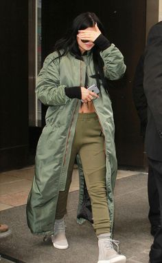 kyliejennerfashionstyle:  February 12, 2015 - Kylie Jenner leaving her hotel in NYC.