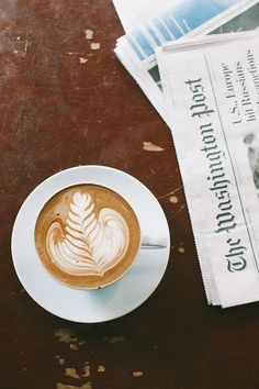 Cappuccino and newpapers at the Blind Dog Cafe | Jenna Souers, March 2014