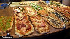 Triulsa Pizza and Pane 4363 Main St Vancouver, Romans Pizza, Square Pizza, Magic Day, Good Pizza, Mini Foods, Pizza Recipes, Zucchini, Main Street