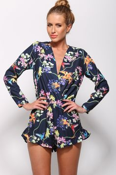 Faithful Playsuit Navy, $59 + Free express shipping http://www.hellomollyfashion.com/new-arrivals/faithful-playsuit-navy.html